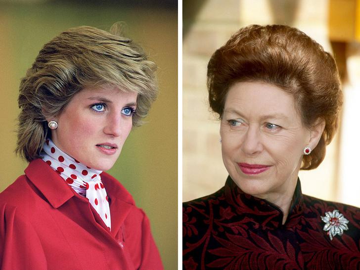 Фото №1 - Вражда принцесс: почему Маргарет запрещала своим детям общаться с Дианой