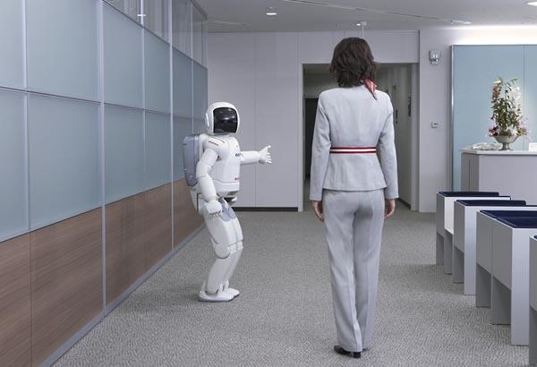 Фото №1 - Привлекательные роботы окажут любые услуги