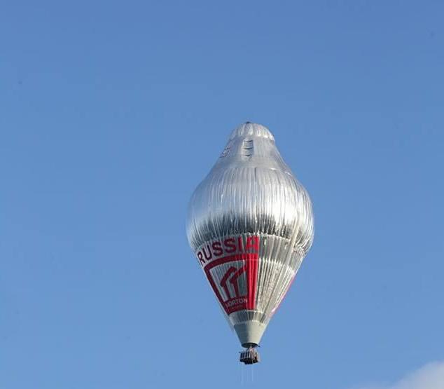 Фото №2 - Федор Конюхов отправился в кругосветное путешествие на воздушном шаре