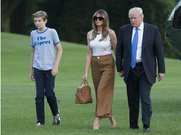 Фото №2 - Первые мальчики государства: что общего у принца Джорджа и Бэррона Трампа