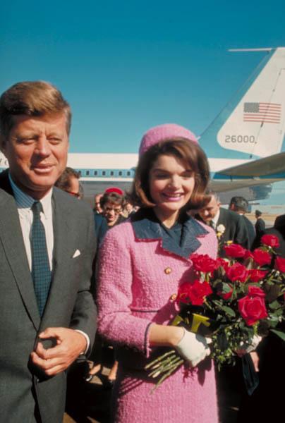 Жаклин и Джон Кеннеди