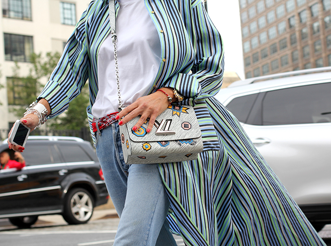Фото №12 - Образы гостей недели моды в Нью-Йорке в прошедшие выходные