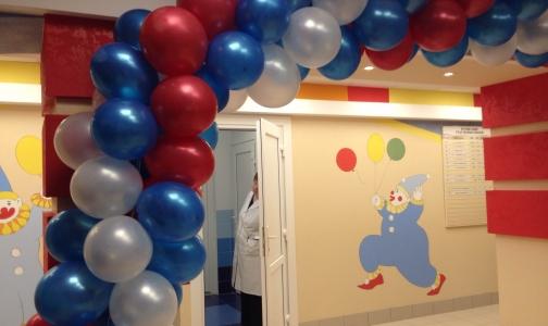 Фото №1 - В Калининском районе после ремонта открылась детская поликлиника
