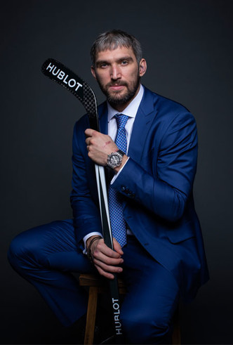 Фото №3 - Хоккеист Александр Овечкин стал другом бренда Hublot