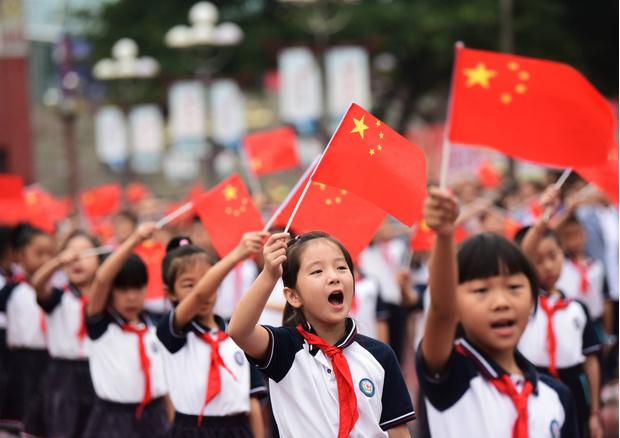 обучение детей в Китае