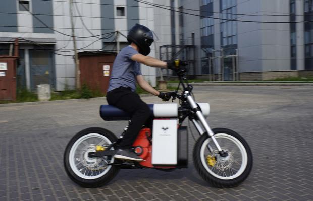 Фото №4 - «Панч»— мотоцикл нового поколения, созданный в России и Белоруссии