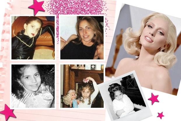 Леди Гага детские фото
