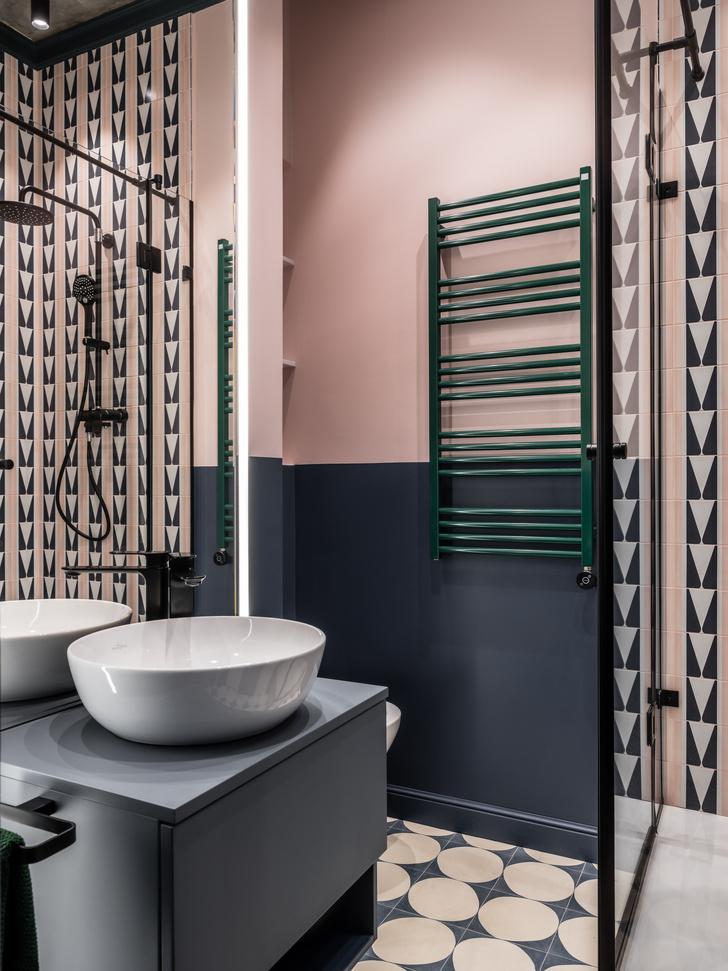 Фото №1 - Яркая ванная комната: 5 простых идей
