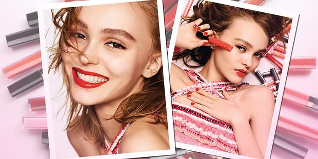 Фото №1 - Прекрасная Лили-Роуз Депп стала лицом новой линии блесков для губ Chanel