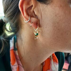 Фото №6 - 5 стильных способов носить каффы на ухо