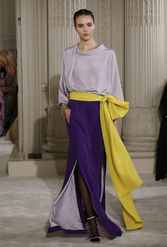 Фото №5 - Цветы и перья: Valentino Haute Couture SS18