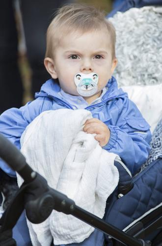 Фото №40 - Принц Оскар: два года в фотографиях