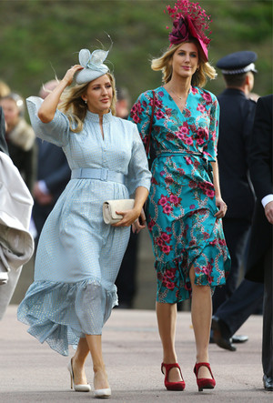 Фото №29 - Самые стильные гости на свадьбе принцессы Евгении и Джека Бруксбэнка