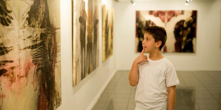 Фото №1 - Как говорить с ребенком об абстрактном искусстве?