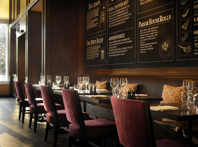 Ресторан JW Steakhouse при отеле Grosvenor House, A JW Marriott Hotel