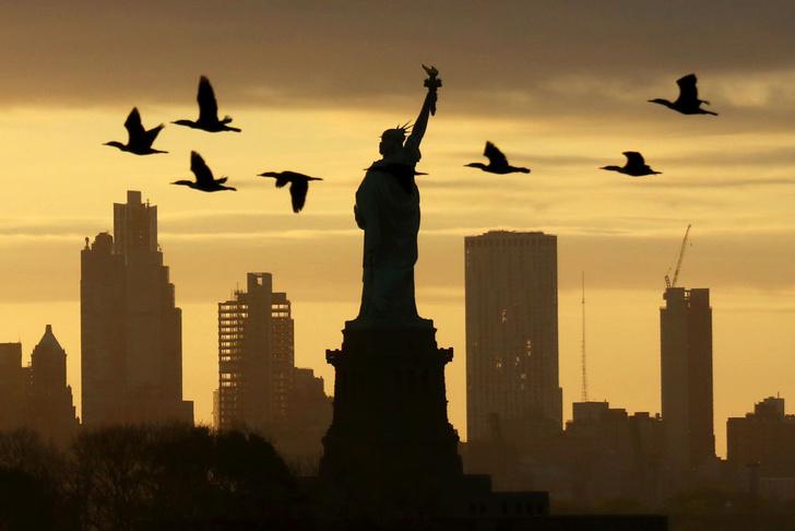 Фото №1 - Восход над Нью-Йорком