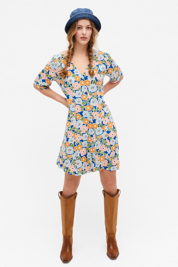 Фото №9 - Летом всем нам нужно платье в цветочек. Вот 20 нежных вариантов