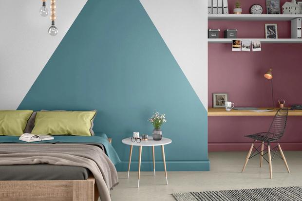 Фото №2 - Цветные сны: Color Blocking в спальне