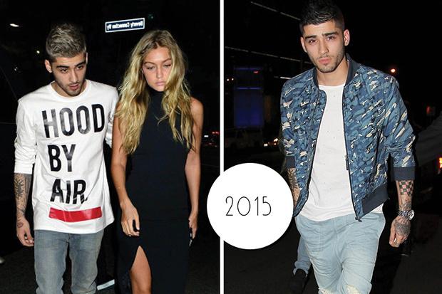 Эволюция стиля Зейна Малика: 2015–2016 год