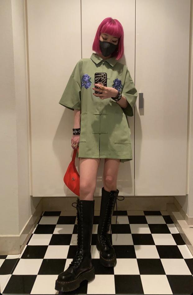 Фото №1 - Очень короткая рубашка-кимоно вместо платья: Айя Сузуки пересматривает классику