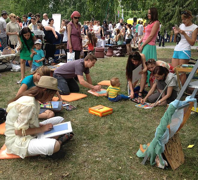 афиша Омска, городской пикник, мастер-класс, выставка, творческая ярмарка