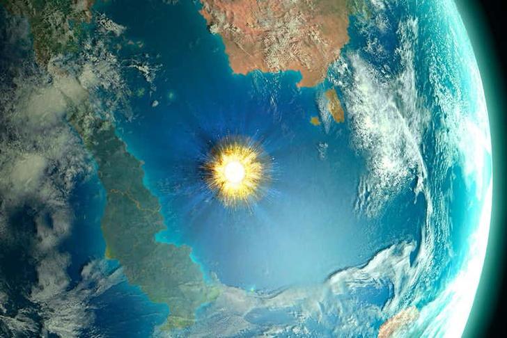 Фото №1 - Ученые рассчитали траекторию астероида, погубившего динозавров