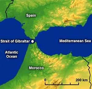 Фото №1 - Туннель через Гибралтар построят до 2025 года