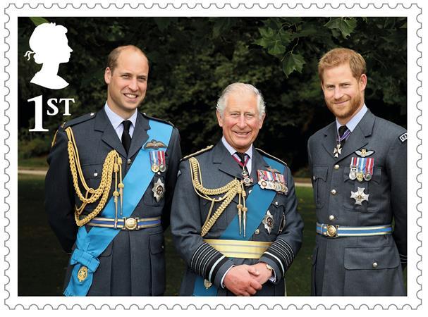 Фото №1 - В Британии выпустили марки в честь 70-летия принца Чарльза