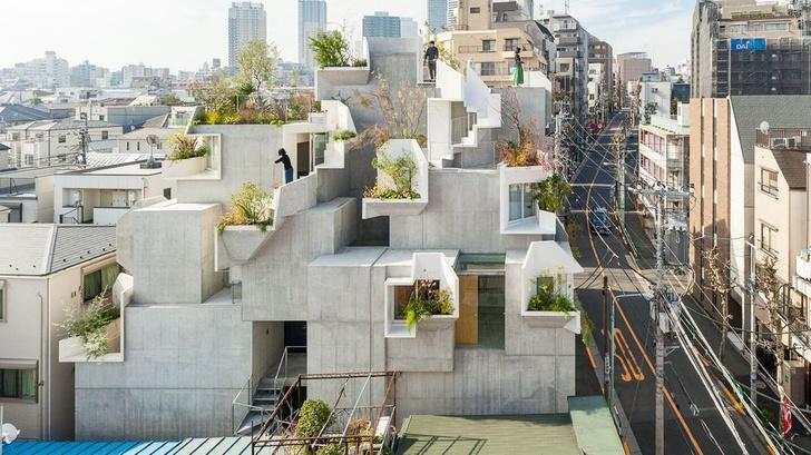 Фото №1 - Бетонные джунгли: дом в Токио