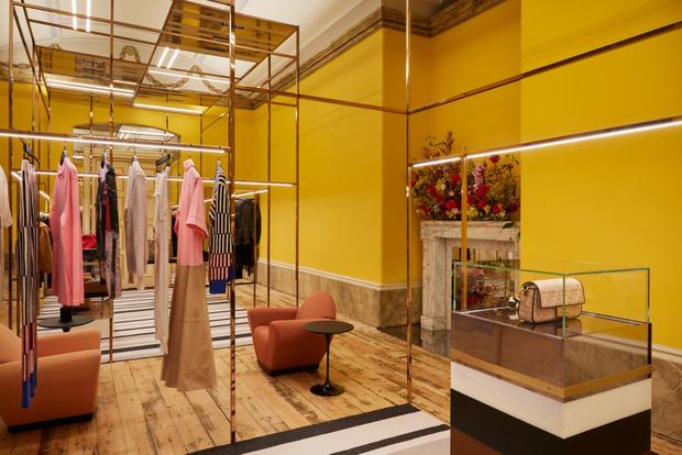 Фото №5 - Новый бутик в Лондоне по дизайну Dimorestudio