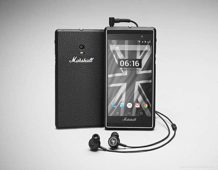 Фото №2 - Marshall и «Билайн» представляют смартфон для меломанов