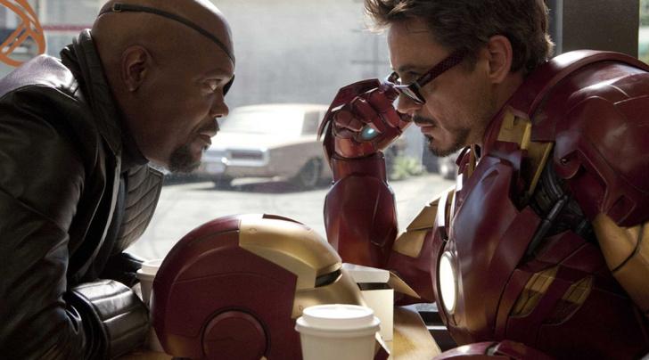 Фото №1 - Marvel показал вырезанную послетитровую сцену из первого «Железного человека»