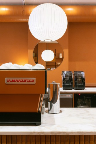 Фото №4 - Оранжевое кафе Beam в Лондоне