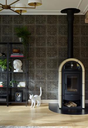 Фото №8 - Современный интерьер в деревянном доме в Подмосковье
