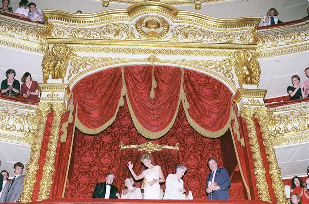 Фото №9 - Диана в Москве: как прошел единственный визит принцессы в Россию