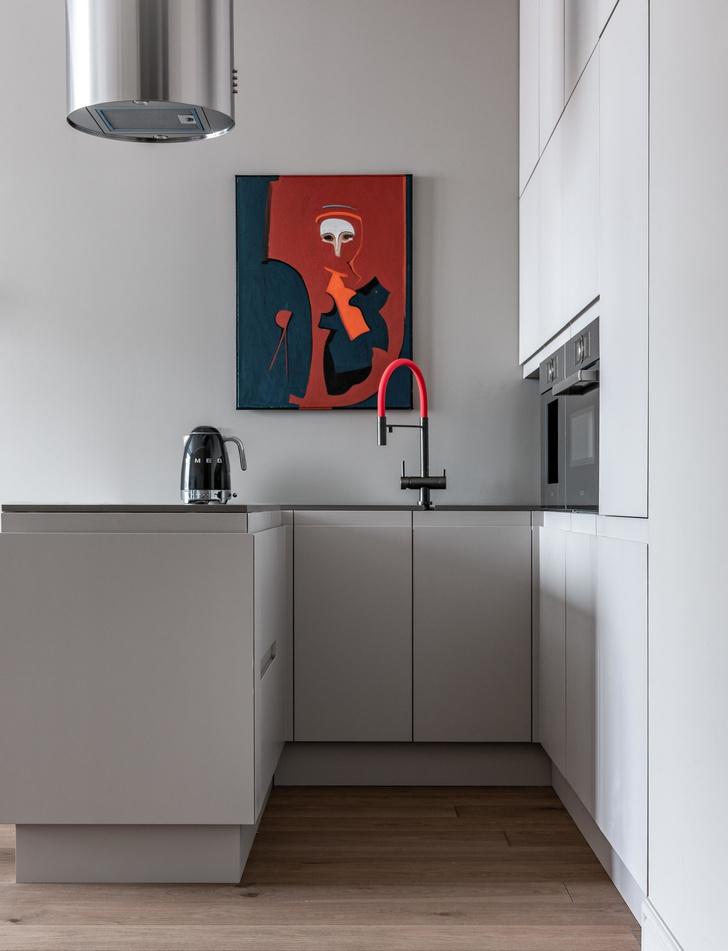 Фото №4 - Квартира 45 м²: в гостях у дизайнера Леси Печенкиной