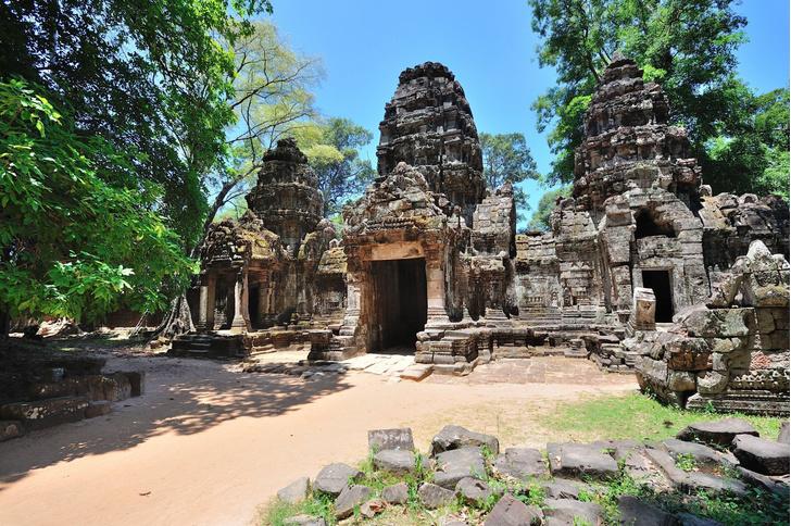Фото №1 - Названы причины упадка древнего Ангкора