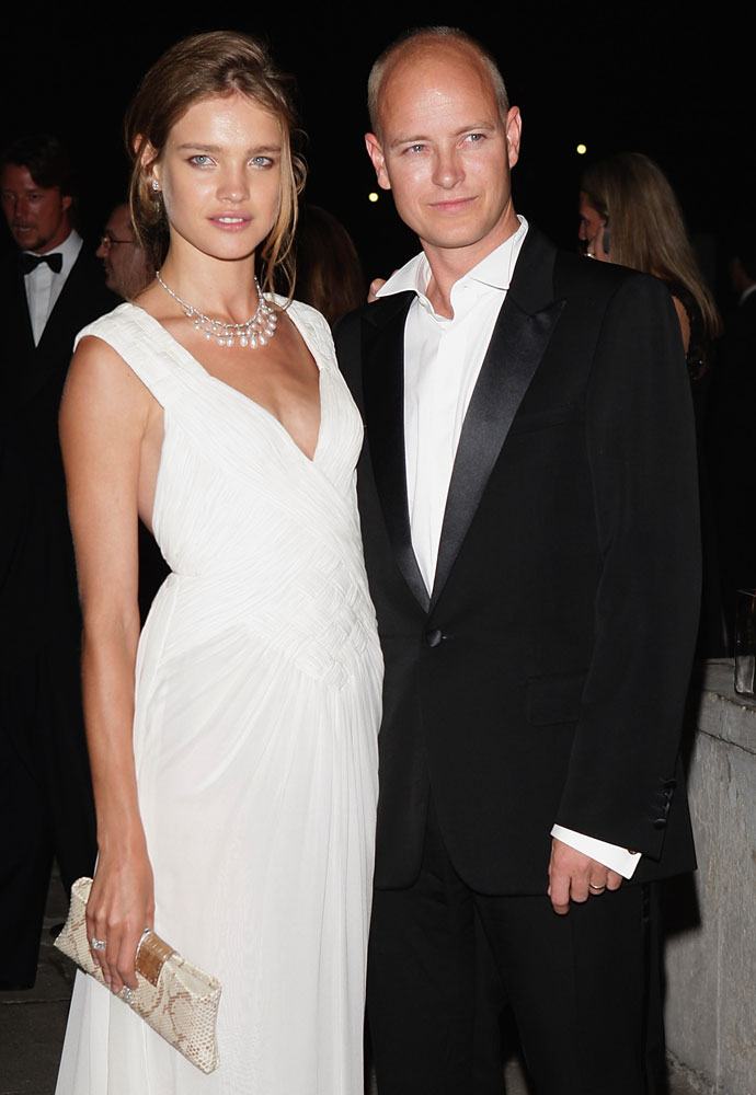 Наталья Водянова с экс-супругом Джастином Портманом