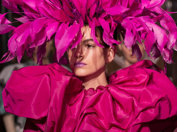 Фото №6 - Цветы и перья: Valentino Haute Couture SS18