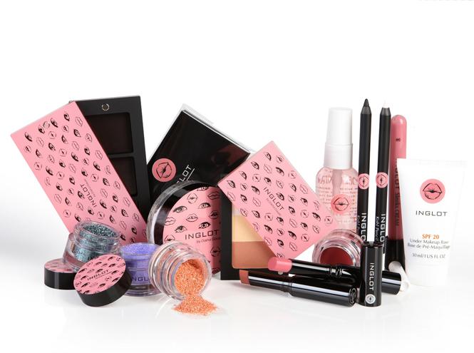 Фото №1 - Новая круизная коллекция макияжа Inglot и Dasha Gauser
