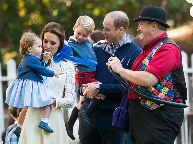 Фото №21 - Принцесса Шарлотта Кембриджская: второй год в фотографиях