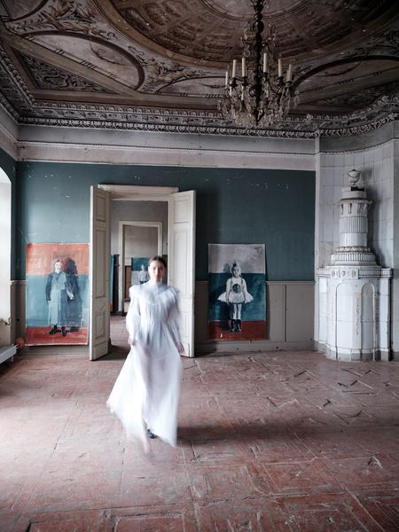 Фото №5 - «Белая школа»: выставка Екатерины Рожковой в усадьбе в Калужской области
