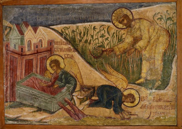 Фото №9 - Экспозиция «Калязин. Фрески затопленного монастыря» в МУАРе