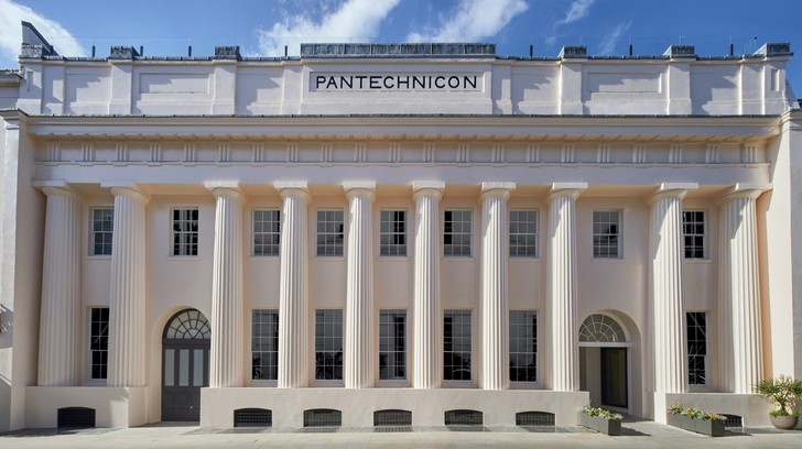 Фото №1 - Pantechnicon: концепт-стор в здании XIX века в Лондоне