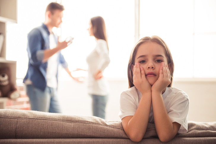 Как сообщить ребенку о разводе родителей