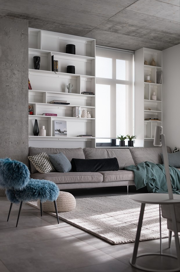 Фото №4 - Бетон + яркие акценты: квартира 166 м² в Кривом Роге
