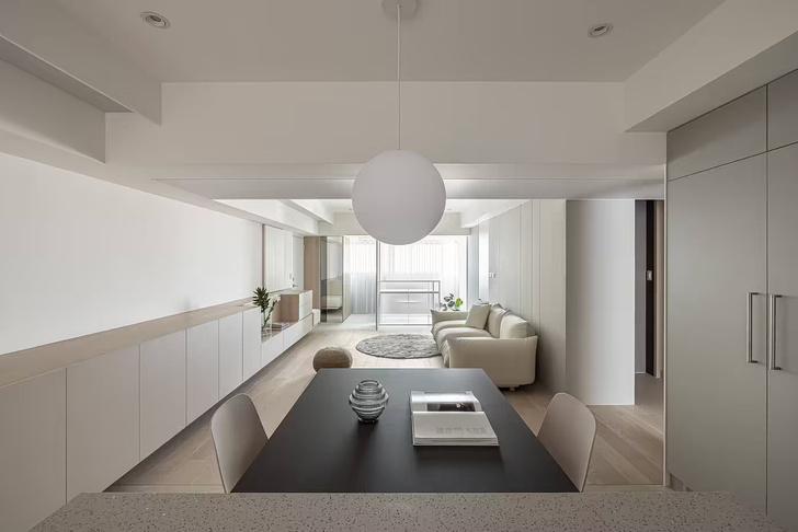 Фото №1 - Квартира с минималистичным интерьером на Тайване