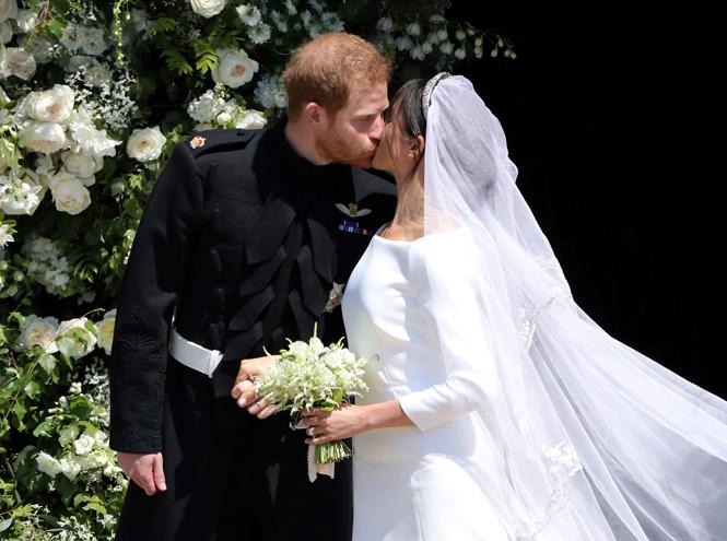Фото №10 - Самые трогательные моменты королевских свадеб (о Гарри и Меган мы тоже не забыли)