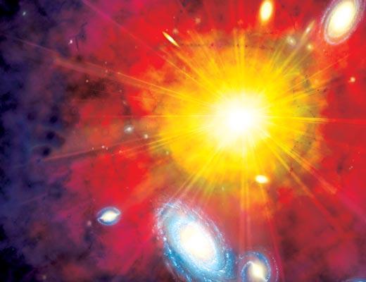 Фото №1 - За горизонтом вселенских событий