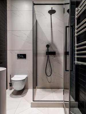 Фото №13 - Современная квартира со свободной планировкой 120 м²
